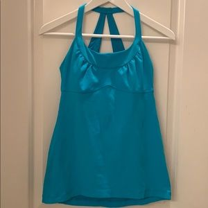 Lululemon athletica blue tank